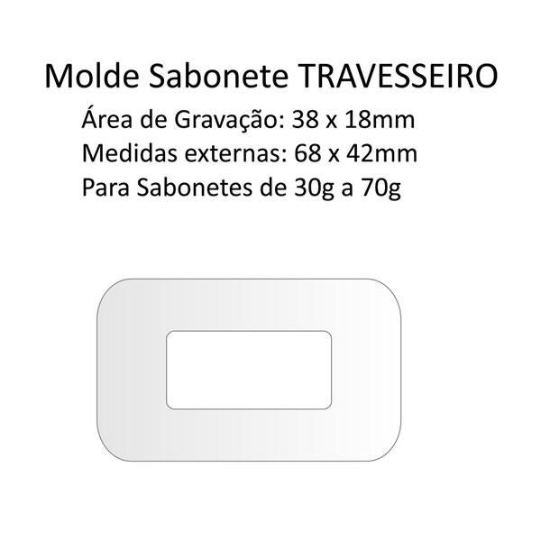 A05 Molde Sabonete Travesseiro