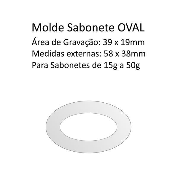 A06 Molde Sabonete Oval