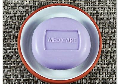 Sabonete Personalizado Medicare Alfazema