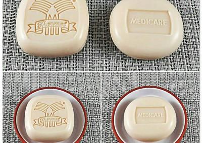 Sabonetes Personalizados Amêndoas Thermal e Medicare